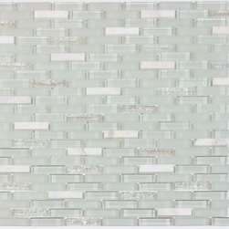 Bestview Glass Mosaic Random Strip Ballentine 201594 -