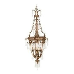 Livex Lighting - Livex La Bella Foyer Vintage Gold Leaf -8808-65 - Livex products are highly detailed and meticulously finished by some of the best craftsmen in the business