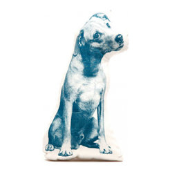 Jack Russell Pillow - Pacific On Natural