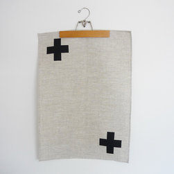 Cross Tea Towel - I suggest pairing this with a side of Swiss cheese.