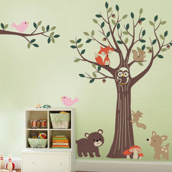 Tree with Forest Friends - special offer: