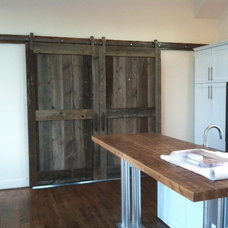 traditional kitchen countertops by Reclaimed DesignWorks