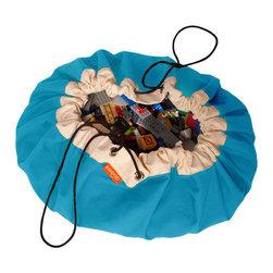 Swoop Bags - Swoop Bag, Aquarium, Large - Toy Storage Bag + Play Mat in one!