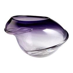Cyan Design - Cyan Design 06100 Aloft Swirl Contemporary Vase - Large - Cyan Design 06100 Aloft Swirl Contemporary Vase - Large