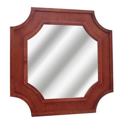 Threshold Carved Wood Mirror - Complement any room's decor with this carved wood mirror from the Threshold line at Target. Its gorgeously crafted wood frame features a rich, hand-painted finish and antique styling. It is the perfect element to revive any bathroom, bedroom or foyer.