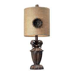 Dimond Lighting - 93-10021 Orde Table Lamp, Casa Nova - Traditional Table Lamp in Casa Nova from the Orde Collection by Dimond Lighting.
