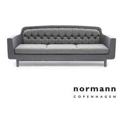 Normann Copenhagen Onkel Sofa 3-Seater Light Gray - Normann Copenhagen Onkel Sofa 3-Seater Light Gray