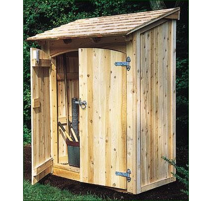 Side yard storage shed for Side storage shed