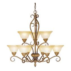 Livex Lighting - Livex Lighting 8279-57 Ceiling Light/Chandelier - Livex Lighting 8279-57 Ceiling Light/Chandelier