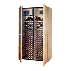 Vinotemp VINO-Model Wine Cabinet w/ 2 Cooling Units - Vinotemp wine cabinets are complete wine ...