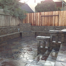 Traditional Patio by Stowe General Construction