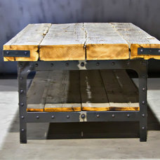 Industrial Coffee Tables by Basin Custom