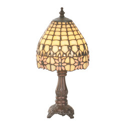 "Meyda Lighting - Meyda Lighting 49190 13""H Victorian Flourish Mini Lamp - Meyda Lighting 49190 13""H Victorian Flourish Mini Lamp"