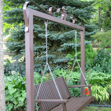 Garden Statues And Yard Art by Red Iron Design
