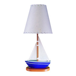 Cal Lighting - Cal Lighting BO-5653 60 W Sail Boat Lamp - 60W Sail Boat Lamp