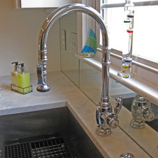 contemporary kitchen faucets by Sea Island Builders LLC