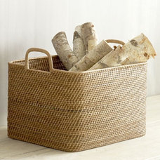 modern baskets by West Elm