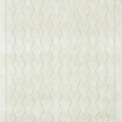 """Loloi - Loloi Dream Shag DR-03 (Ivory) 5'2"""" x 7'7"""" Rug - Quite possibly one of the thickest shags available, Dream Shag is designed to add supreme comfort to the look and feel of any home. The pile consists of thick twisted polypropylene yarns that measure 1.5 inches in length and are densely packed. The result is a shag that's plush, thick, and comfortable. And since it's made in Egypt using power looms, any Dream Shag you order is made with precise design and pile height accuracy."""