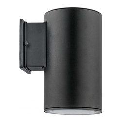 Joshua Marshal - One Light Black Outdoor Wall Light - One Light Black Outdoor Wall Light