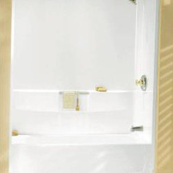 STERLING PLUMBING - Sterling Vikrell Performa Wall Kit White - Features:
