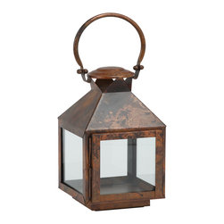 """Riado - Classic Mogador Lantern 11.5"""" BC - Double encased and rounded handles allow comfortable carrying"""