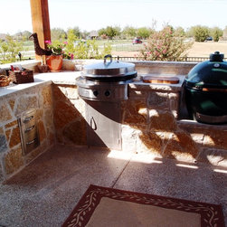Outdoor Kitchen Installations with Evo Circular Cooktop - Evo Circular Cooktop - Outdoor Kitchen