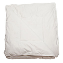 Down Etc. - Down Etc. Aquaplush Hypoallergenic Comforter - White - Down etc® 235TC Duvet Protector and Duvet Cover White, 100% Cotton. Details include Double Stitching and an Invisible Zipper with Tear Drop Closure. Dry clean or wash cold with mild detergeant. Tumble dry low. It is crucial that the zipper be closed during washing and drying to prevent damage to the zipper.