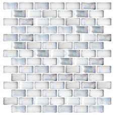Contemporary Tile by Susan Jablon Mosaics