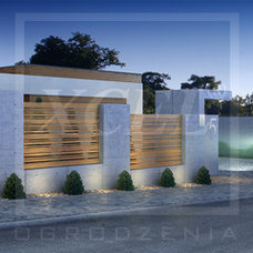 Contemporary Home Fencing And Gates by XCEL
