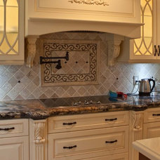Contemporary Kitchen Countertops by The Construction Experts
