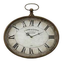 None - Provence Medium Wall Clock - Featuring a traditional design,the Provence wall clock is will give your home timeless appeal.