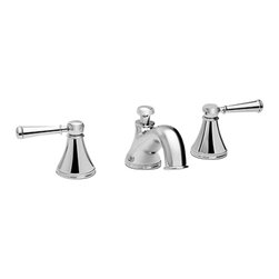 TOTO - Toto Vivian Widespread Lavatory Faucet With Lever Handles - Water sense certified low flow 1.5 gpm faucet lever handle polished chrome