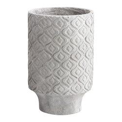 Cyan Design - Reno Planter - Small - Small reno planter - sandstone