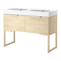 IKEA of Sweden/Eva Lilja Löwenhielm - GODMORGON/BRÅVIKEN Sink cabinet with 2 drawers - Sink cabinet with 2 drawers, birch veneer, birch veneer