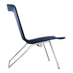 Wilkhahn Velas Lounge Chair, Blue