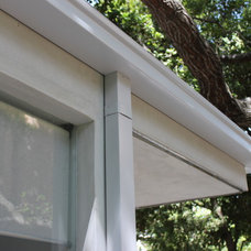Contemporary  by A Plus Gutter Systems