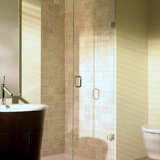 Contemporary Shower Doors by UK Bathrooms