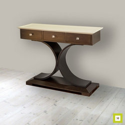Crescent Console Table -