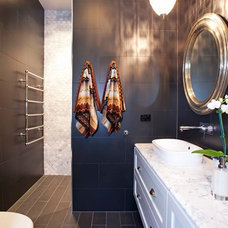 Traditional Bathroom by Space Grace & Style
