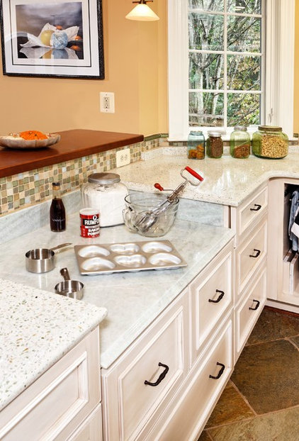 Eclectic Kitchen by Tabor Design Build, Inc.