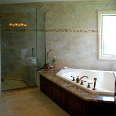 Traditional Bathroom by Architectural Justice