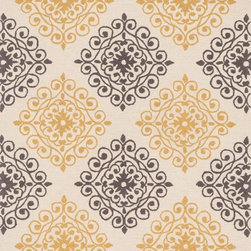 """Loloi Rugs - Loloi Rugs Summerton Collection - Ivory / Grey, 2'-3"""" x 3'-9"""" Scalloped Hearth - Lay a new foundation to your favorite room with a hand-crafted rug from the Summerton Collection. Hand-hooked in China of 100% polyester, these spirited rugs earn notice through clean design and quality craftsmanship. And whether you're relaxing after a long day or just enjoying a lazy Sunday, the perfectly plush feel is a real treat for your feet. With shapes available in rectangles, small rounds, hearths, and runners, Summerton has a rug - or two - for any room."""