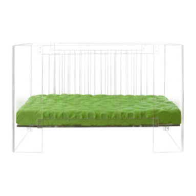 Nurseryworks Vetro Crib - You can start this trend at any age. What's more fabulous than a lucite crib?