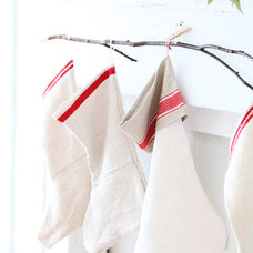 Traditional Christmas Stockings And Holders by Dreamy Whites