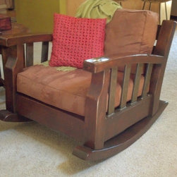 Craftsman Rocking Chair -