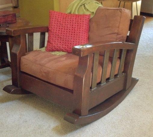Craftsman Rocking Chair -