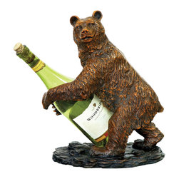 Sterling Industries - Sterling Industries 91-2119 Bear Wine Holder - Wine Holder (1)