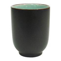 CAC China - Japanese Style 8 oz Cup Lake Water Blue - Case of 36 - C.A.C. China provides durable dinnerware at all levelsincluding super white porcelain fine bone china American white chinacolored glaze china and Asian style china. C.A.C China offers a variety of innovative shapes from square rectangular triangular wavy to round that will brighten up any tables for modern trendy restaurants hotels resorts clubs caterers cruises etc. All C.A.C China products are oven microwave and dishwasher safe.