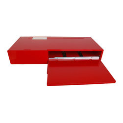 The Ledge - This wall-mounted unit saves space and serves as a shelf, desk, and/or the perfect spot for a turntable.