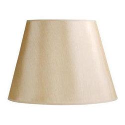 """Laura Ashley - Laura Ashley SFB818 Classic 18"""" Butter Yellow Faux Silk Barrel Shade - Laura Ashley SFB818 Classic 18"""" Butter Yellow Faux Silk Barrel Shade"""